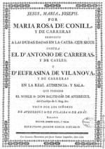 Rosa de Carreras