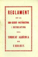 Reglament Sindicat