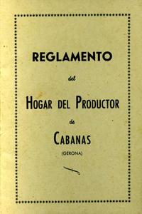 Reglament de l'Hogar del Productor
