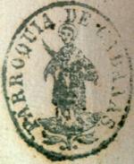 Segell parroquia sant Vicenç