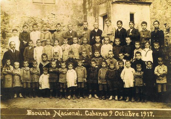 Escola de Cabanes, 1917