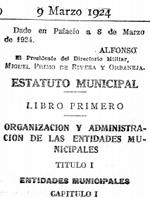 estatut municipal
