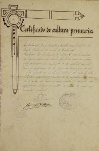 Certificat d'estudis